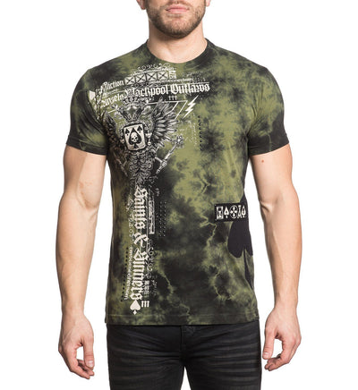 Blackpool Angels - Mens Short Sleeve Tees - Affliction Clothing
