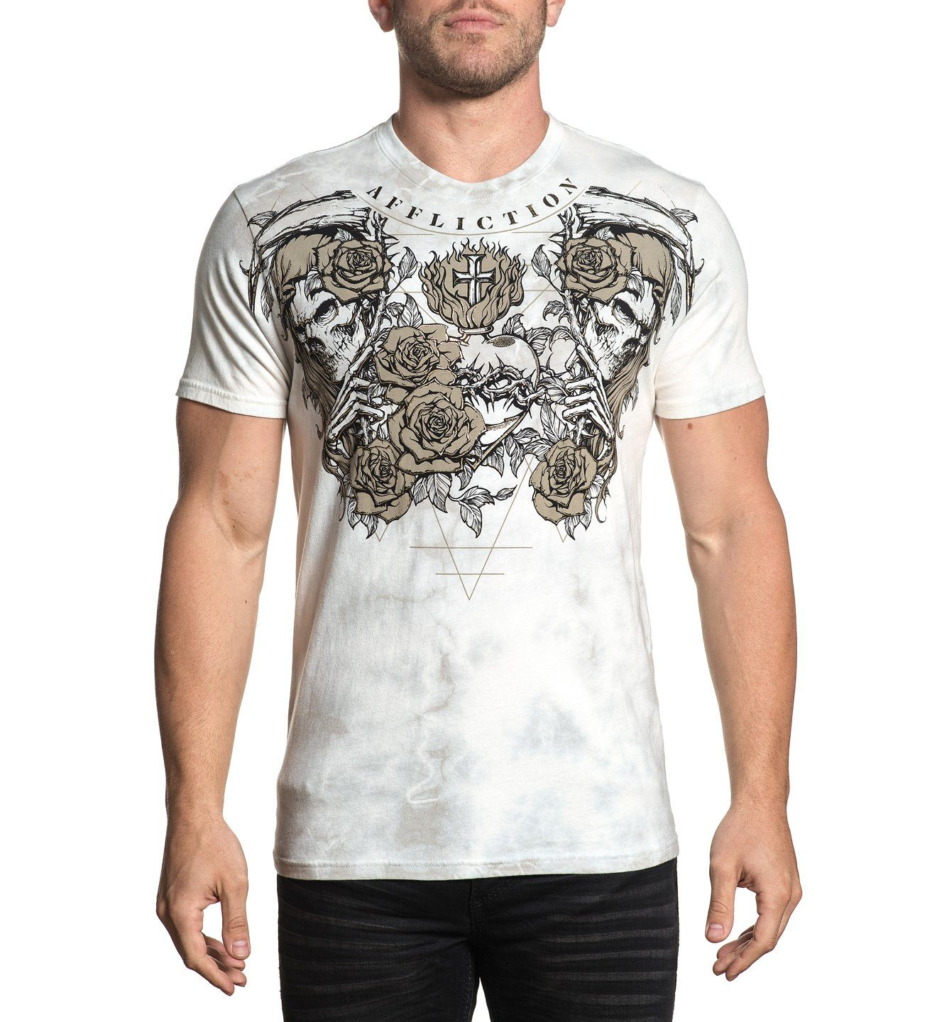 Blood Reaper - Mens Short Sleeve Tees - Affliction Clothing