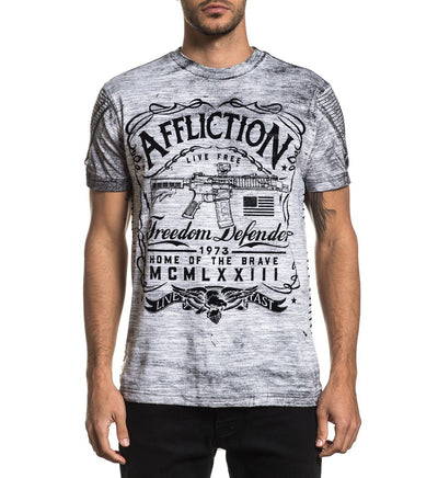 Brave American - Mens Short Sleeve Tees - Affliction Clothing