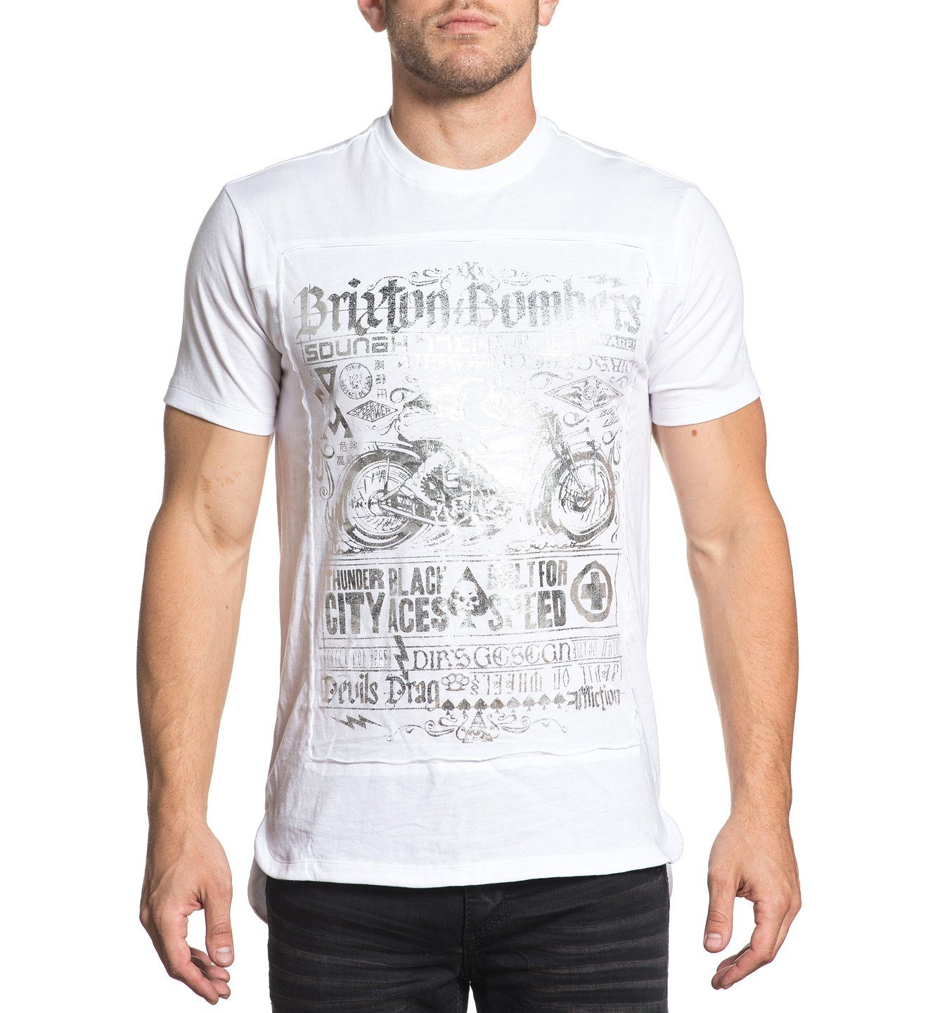 Mens Short Sleeve Tees - Brixton Bombers