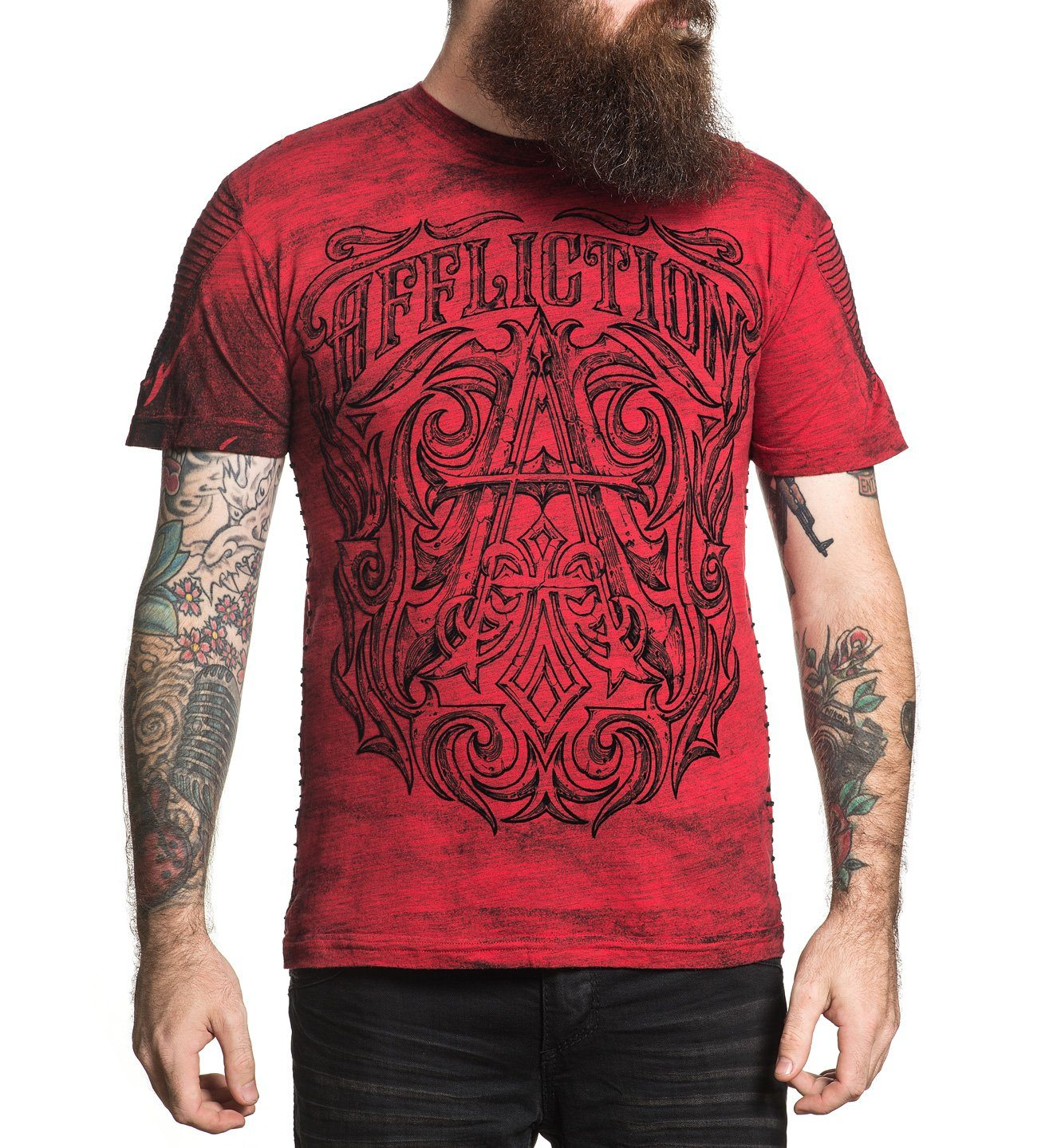 Causeway - Mens Short Sleeve Tees - Affliction Clothing