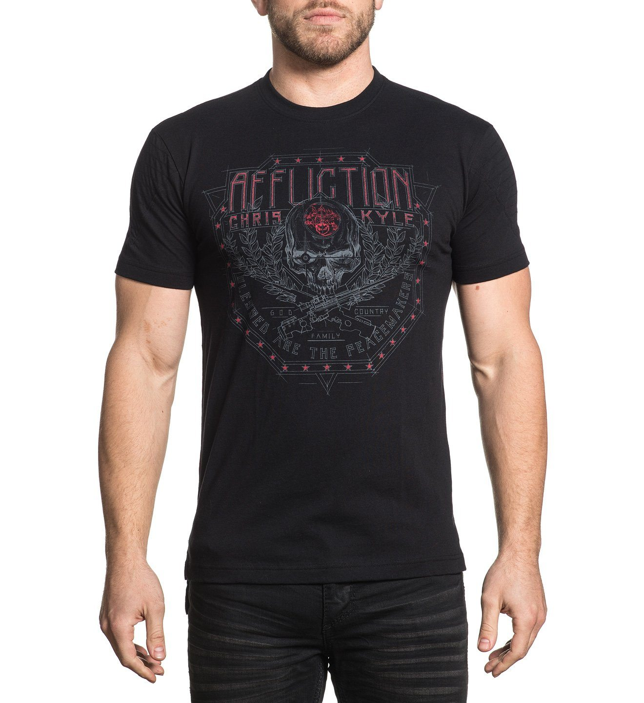 Ck Ballistic - Mens Short Sleeve Tees - Affliction Clothing