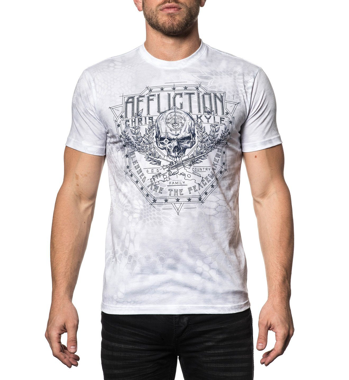 CK Ballistic II - Mens Short Sleeve Tees - Affliction Clothing