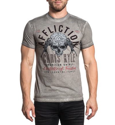 Ck Breathless - Mens Short Sleeve Tees - Affliction Clothing