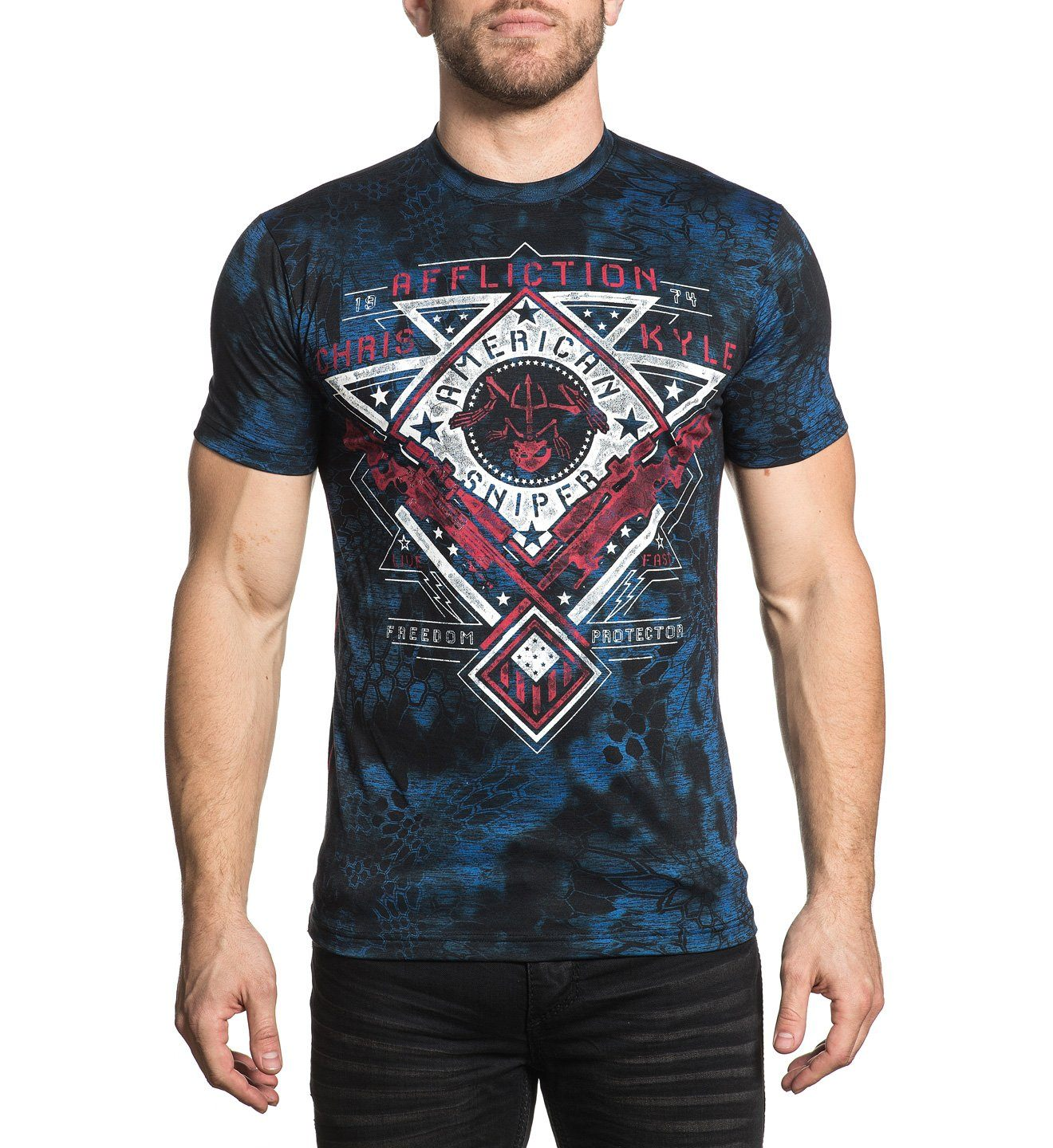 Ck Calibrated - Mens Short Sleeve Tees - Affliction Clothing