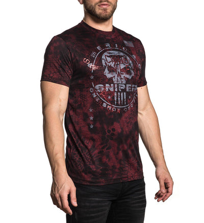 Ck Cover Fire - Mens Short Sleeve Tees - Affliction Clothing