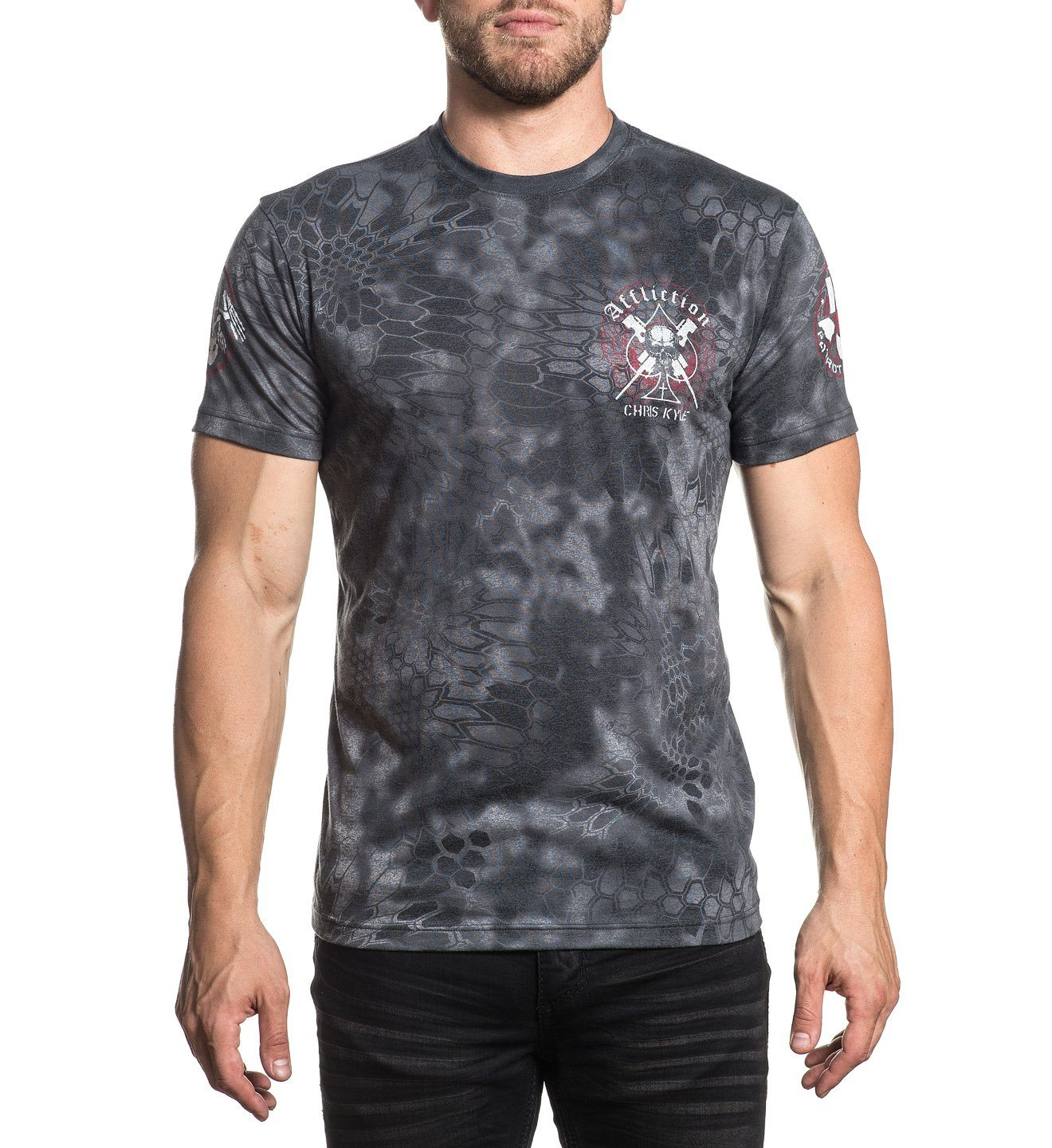 Ck Duty Bound - Mens Short Sleeve Tees - Affliction Clothing
