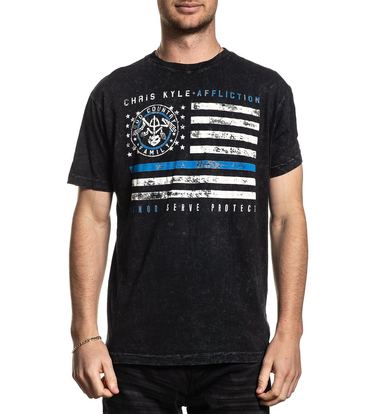 Ck Honor Protect - Mens Short Sleeve Tees - Affliction Clothing
