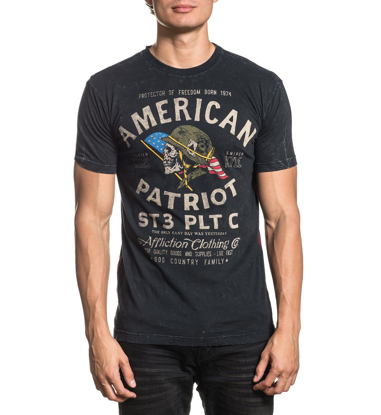 Ck Old Glory - Mens Short Sleeve Tees - Affliction Clothing