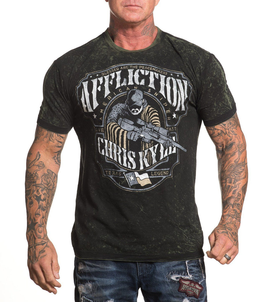 Mens Short Sleeve Tees - CK Peacemaker - Reversible