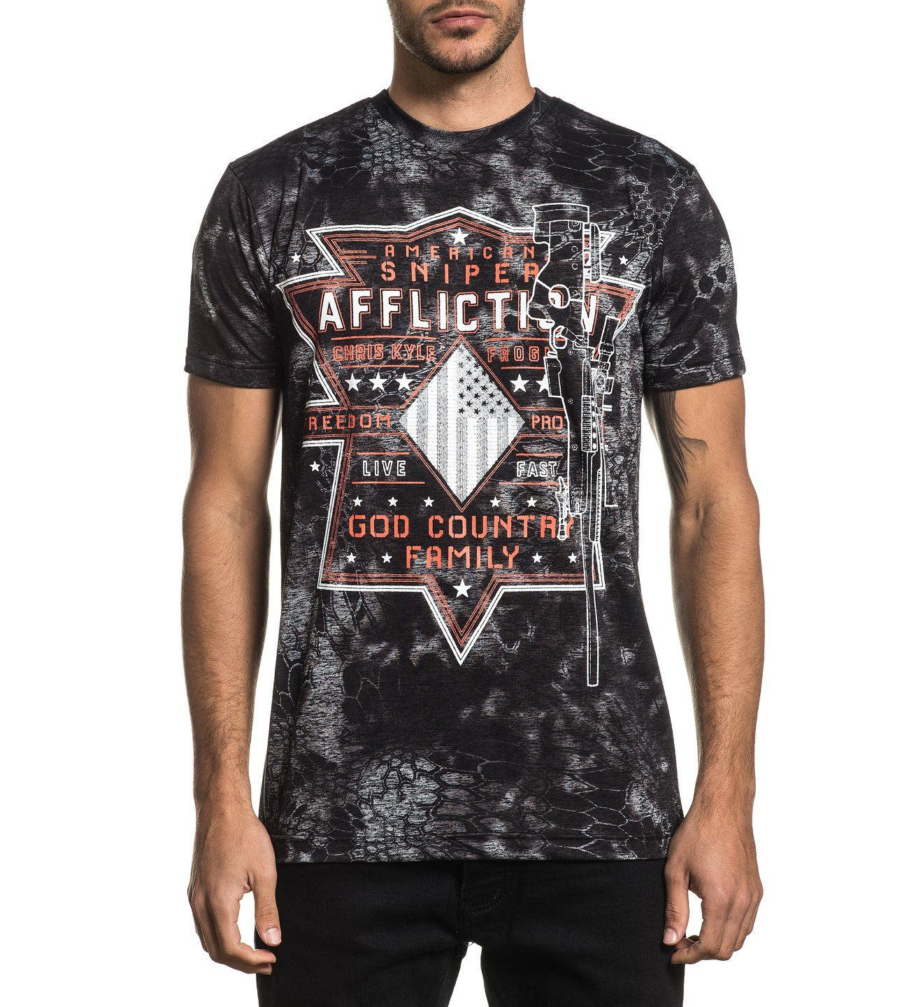 Ck Rifleman - Mens Short Sleeve Tees - Affliction Clothing