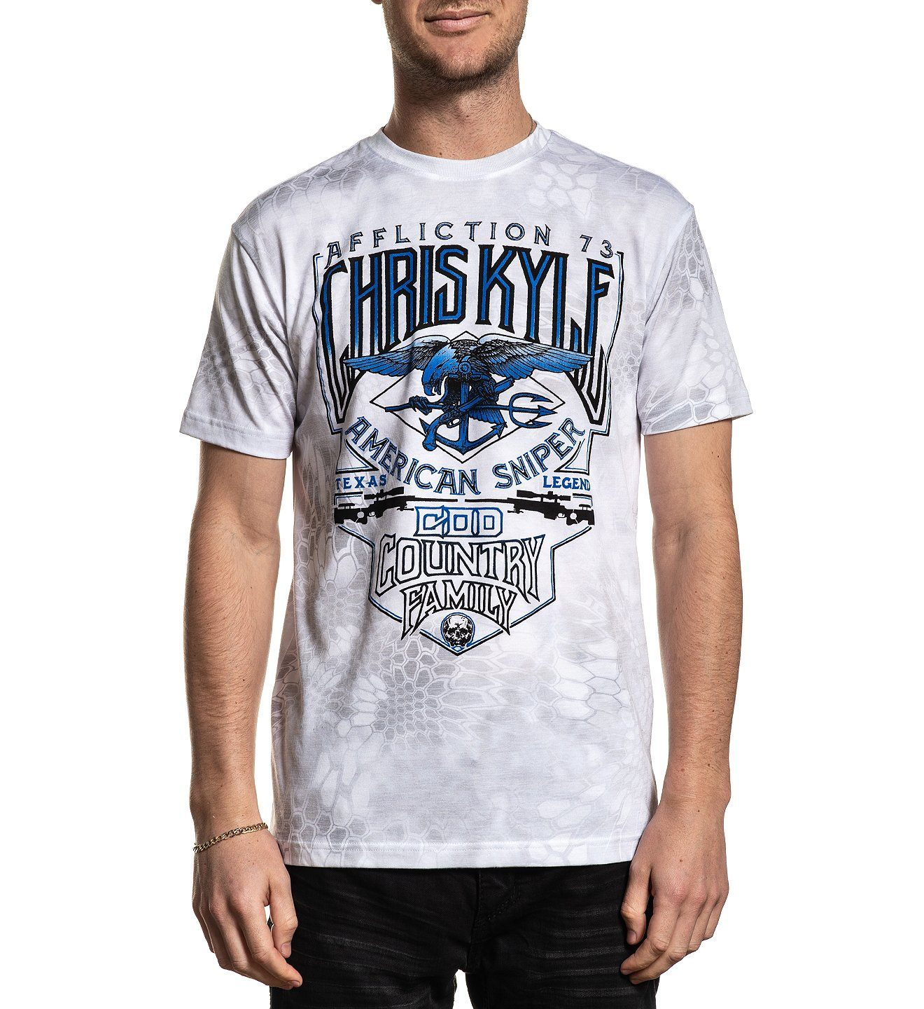 Ck Triton - Mens Short Sleeve Tees - Affliction Clothing