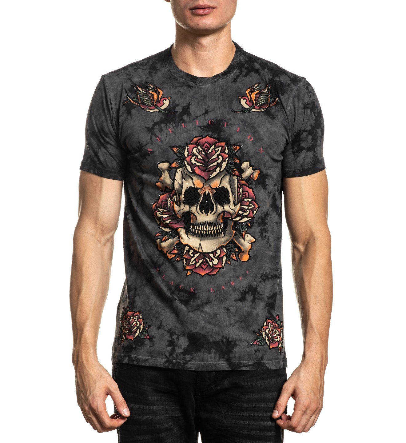 Club Chapter - Mens Short Sleeve Tees - Affliction Clothing
