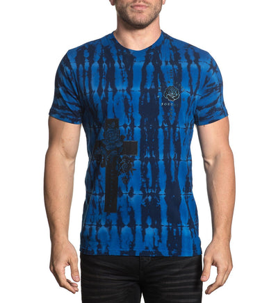 Cross Of Souls - Mens Short Sleeve Tees - Affliction Clothing