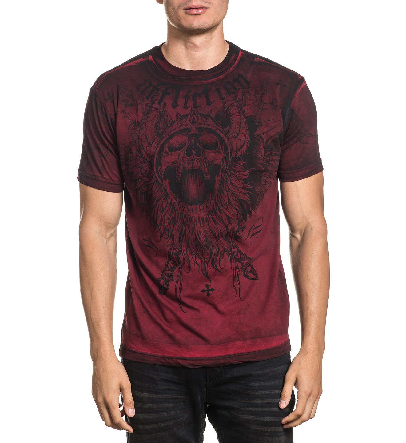 Crusher - Mens Short Sleeve Tees - Affliction Clothing