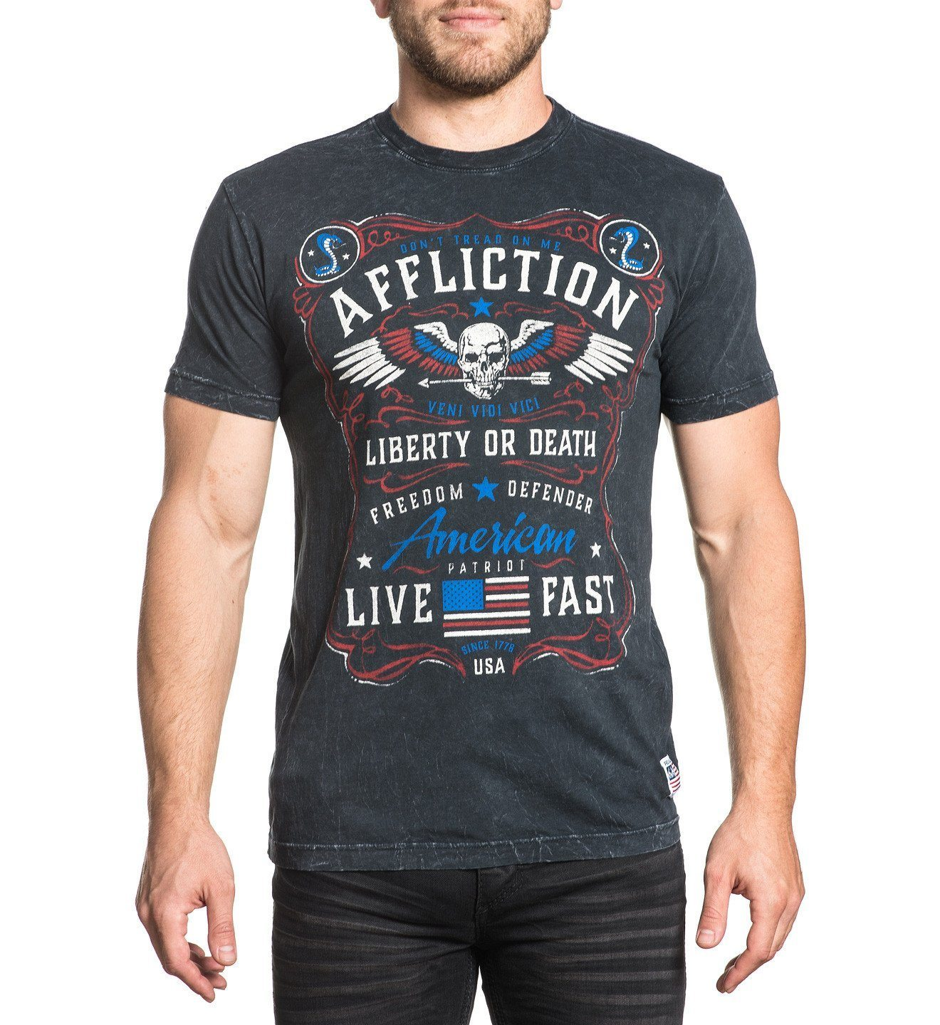 Mens Short Sleeve Tees - Dont Tread
