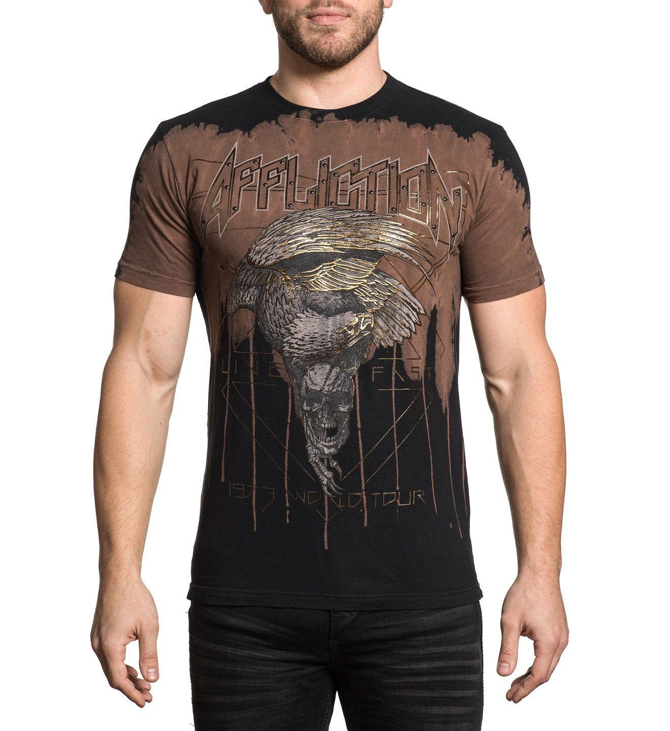 Eagle Rock - Mens Short Sleeve Tees - Affliction Clothing
