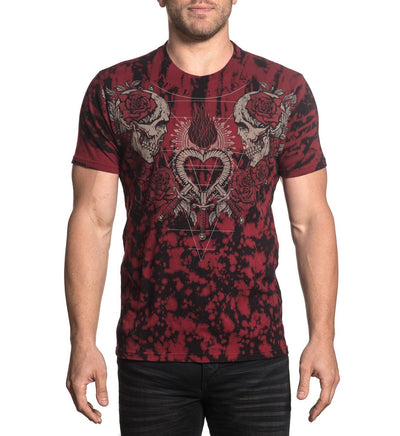 End Of Heartache - Mens Short Sleeve Tees - Affliction Clothing