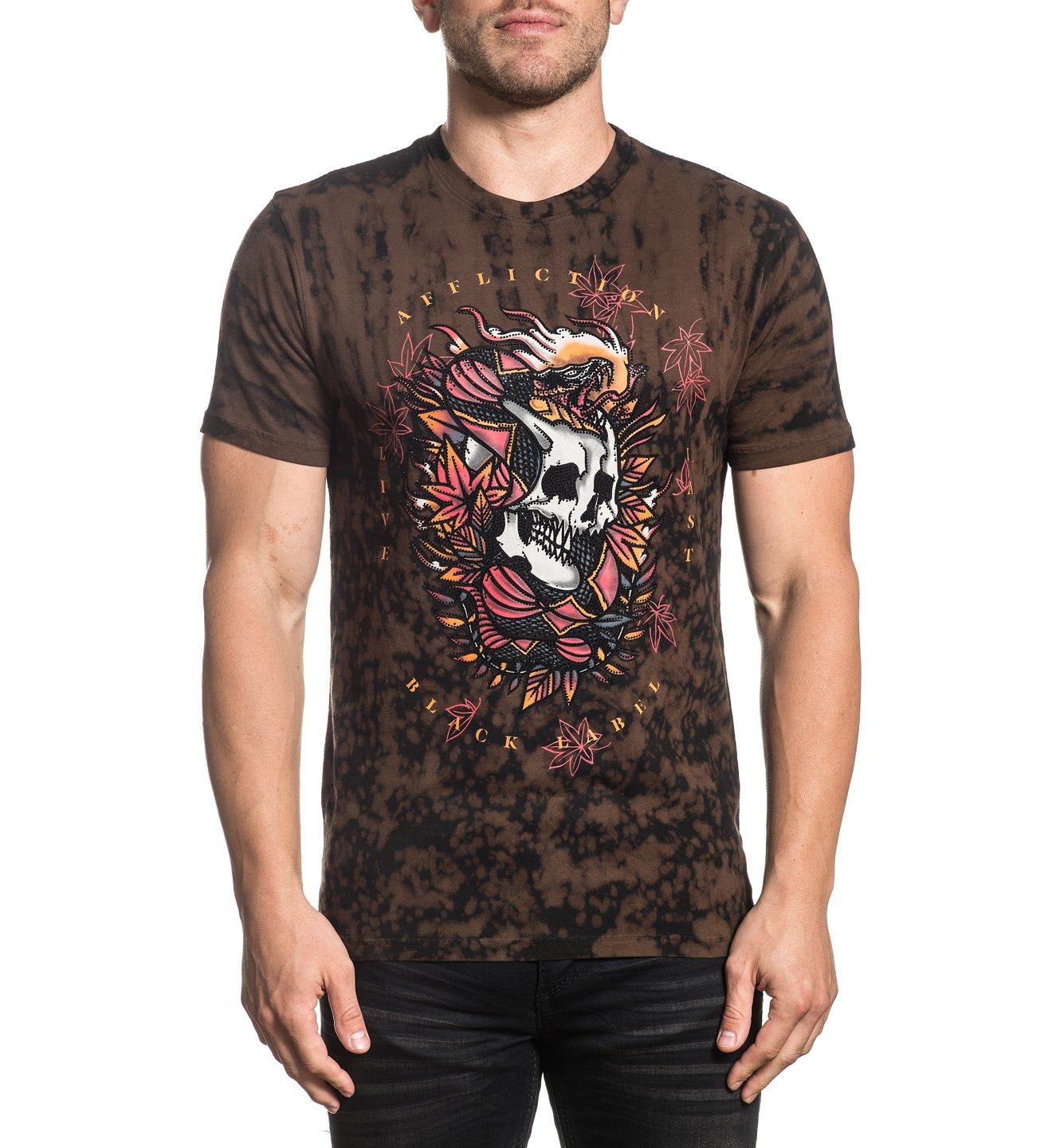 Firethorn - Mens Short Sleeve Tees - Affliction Clothing