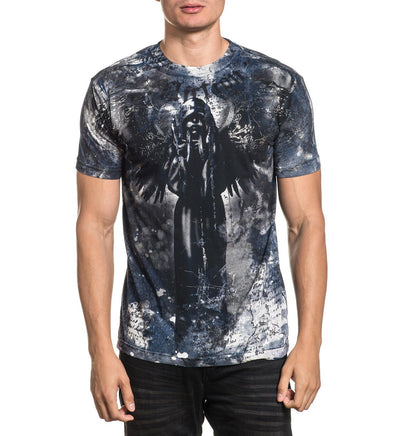 Floating - Mens Short Sleeve Tees - Affliction Clothing