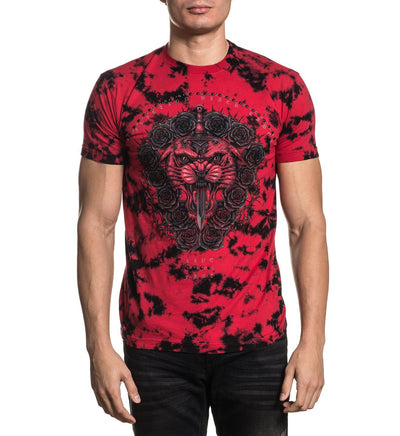 Forged In Canyons - Mens Short Sleeve Tees - Affliction Clothing
