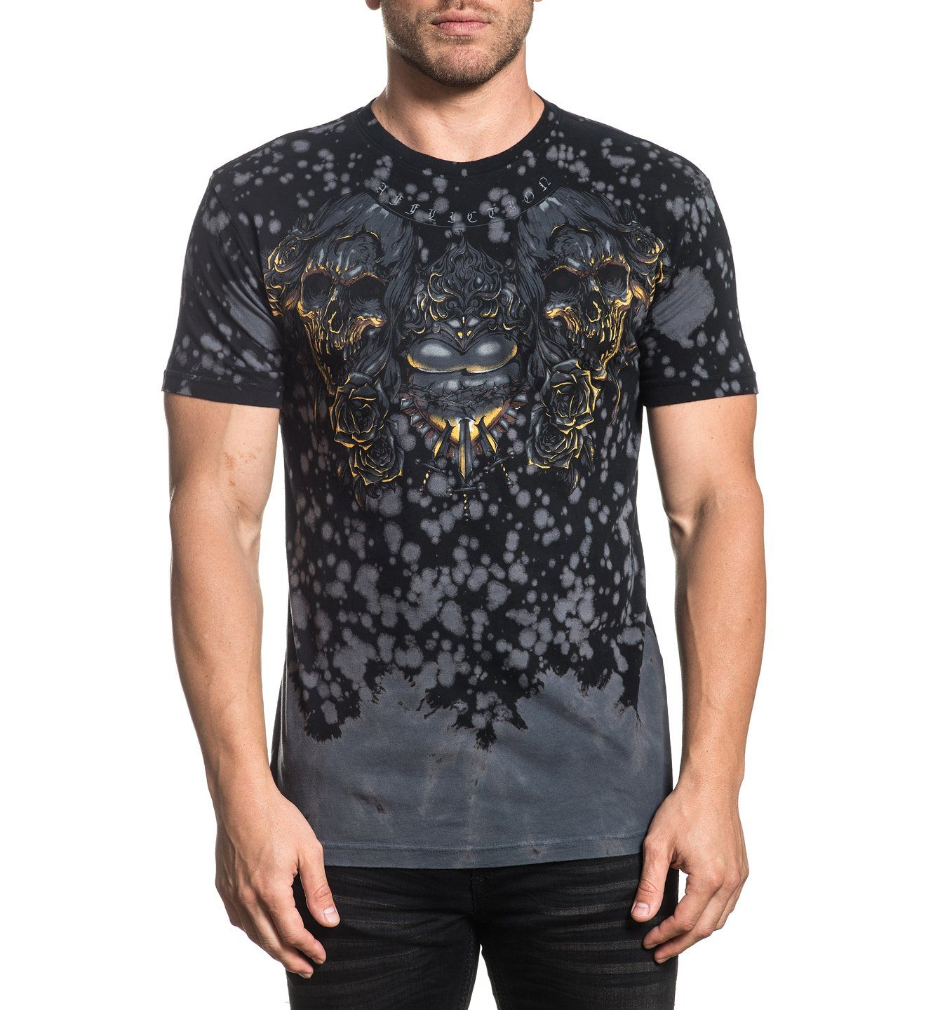 Forged In Fire - Mens Short Sleeve Tees - Affliction Clothing