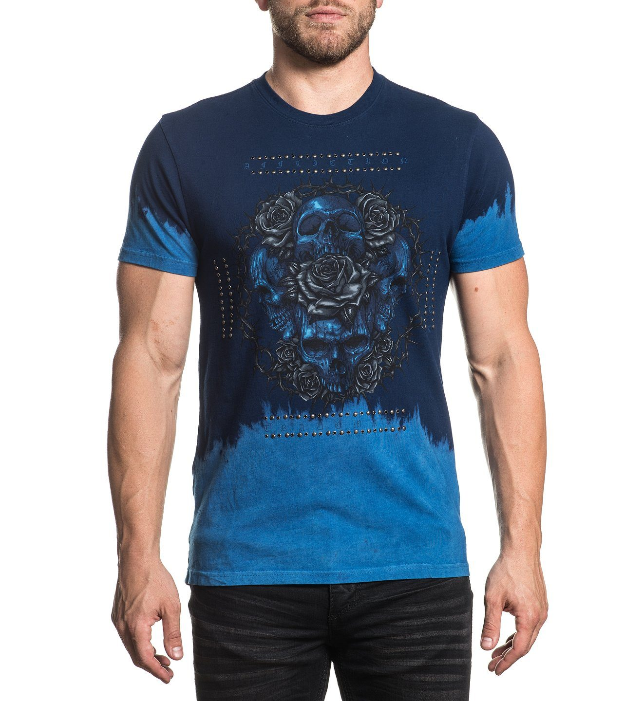 Forged In Oceans - Mens Short Sleeve Tees - Affliction Clothing