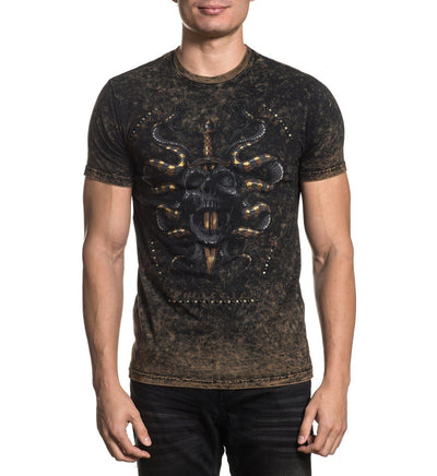 Forged In Poison - Mens Short Sleeve Tees - Affliction Clothing