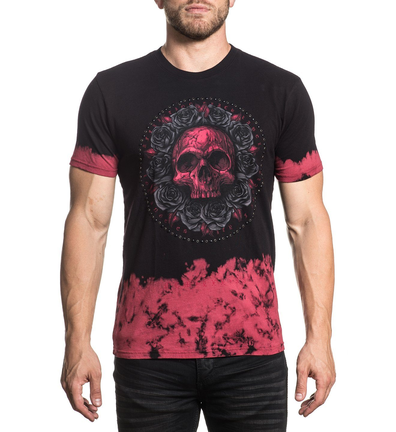 Forged In Rust - Mens Short Sleeve Tees - Affliction Clothing