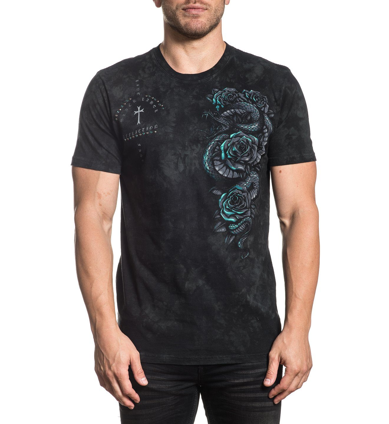 Forged In Stone - Mens Short Sleeve Tees - Affliction Clothing