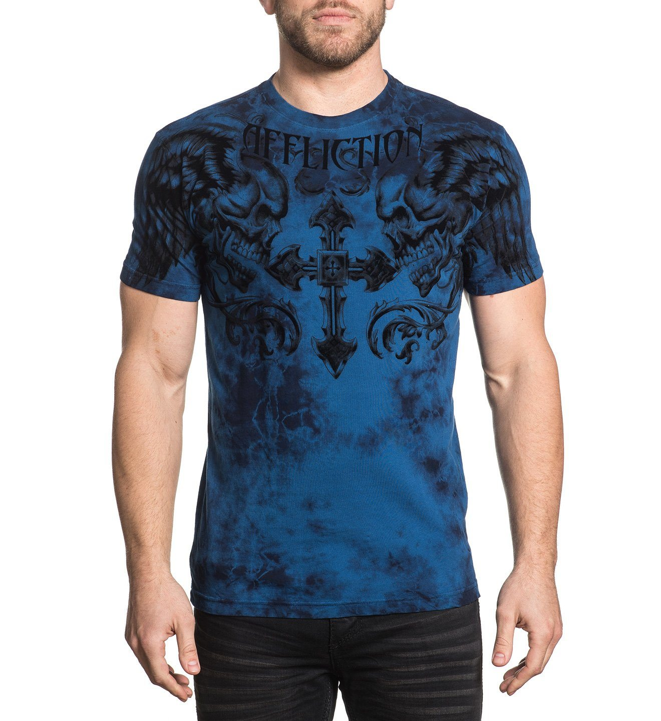 Fragmented - Mens Short Sleeve Tees - Affliction Clothing