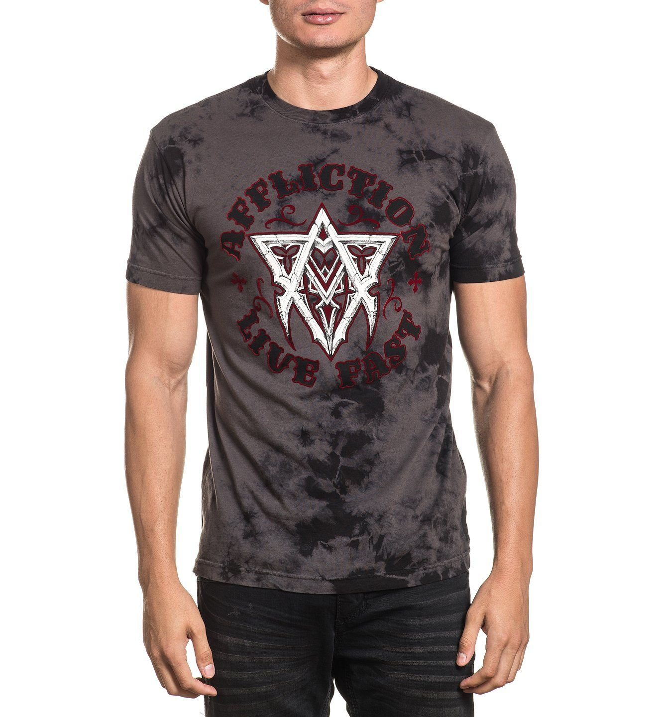 Free Life - Mens Short Sleeve Tees - Affliction Clothing