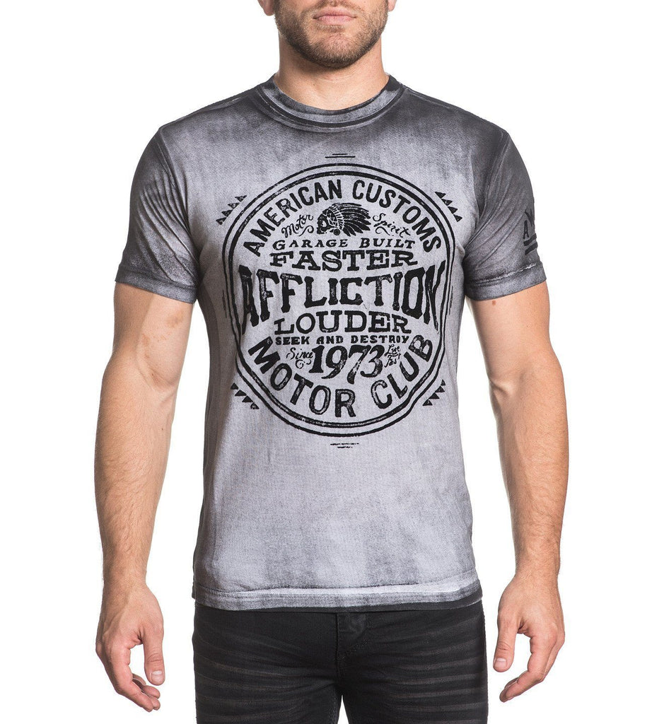 Mens Short Sleeve Tees - Garage Spirit