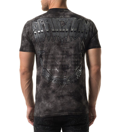 Headhunter Tour - Mens Short Sleeve Tees - Affliction Clothing