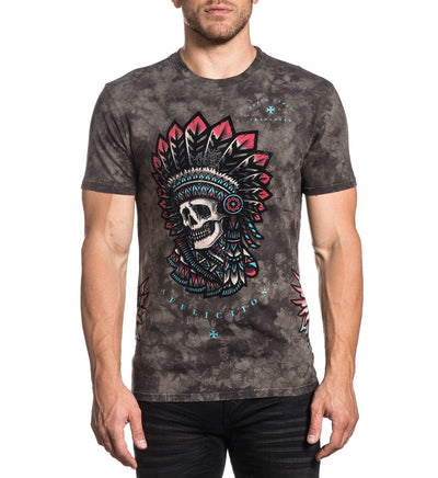 Last Stand - Mens Short Sleeve Tees - Affliction Clothing