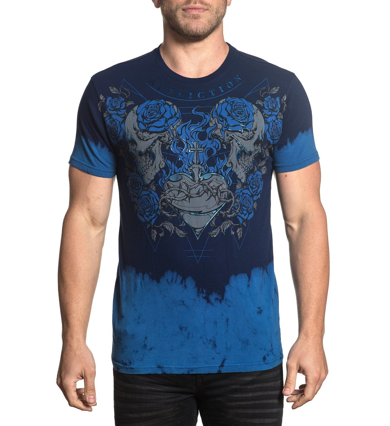 Lifesblood - Mens Short Sleeve Tees - Affliction Clothing