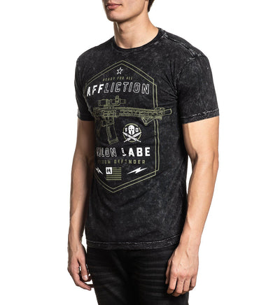 Molon Labe - Mens Short Sleeve Tees - Affliction Clothing