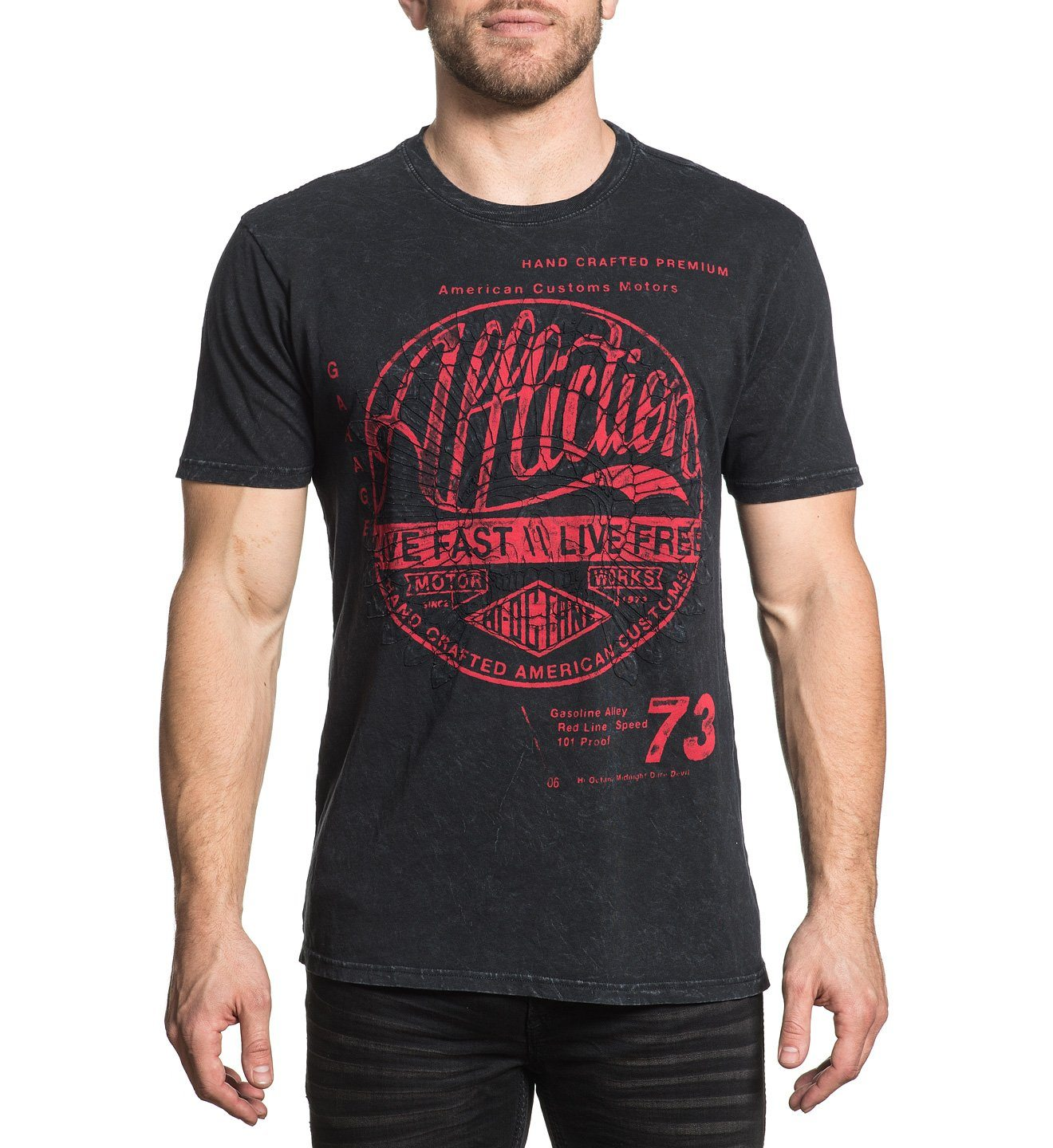 Motor Works Tribe - Mens Short Sleeve Tees - Affliction Clothing
