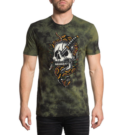 Pierced Glory - Mens Short Sleeve Tees - Affliction Clothing