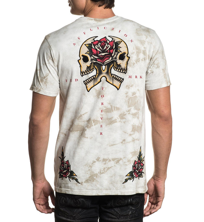 Poison Apple - Mens Short Sleeve Tees - Affliction Clothing