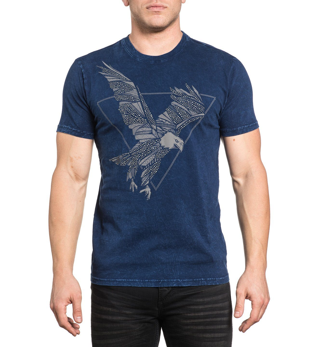 Predatory Haze - Mens Short Sleeve Tees - Affliction Clothing