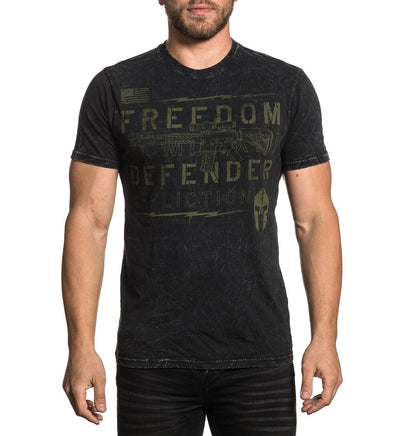 Push - Mens Short Sleeve Tees - Affliction Clothing