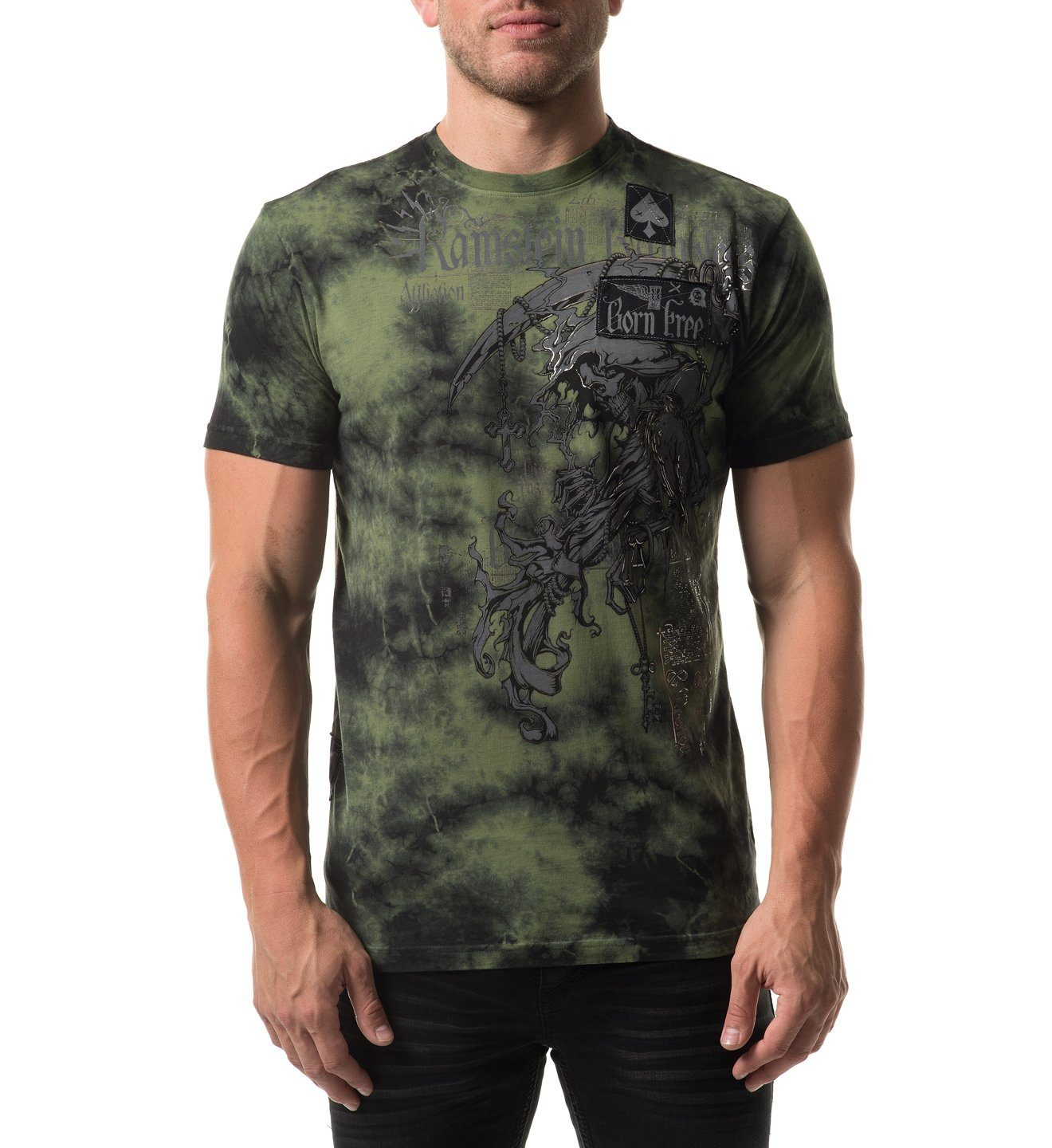 Range - Mens Short Sleeve Tees - Affliction Clothing