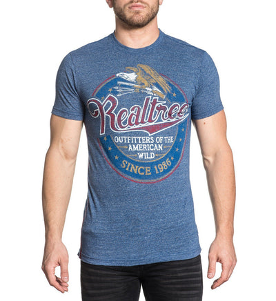 Real Tree Tall Grass - Mens Short Sleeve Tees - Affliction Clothing