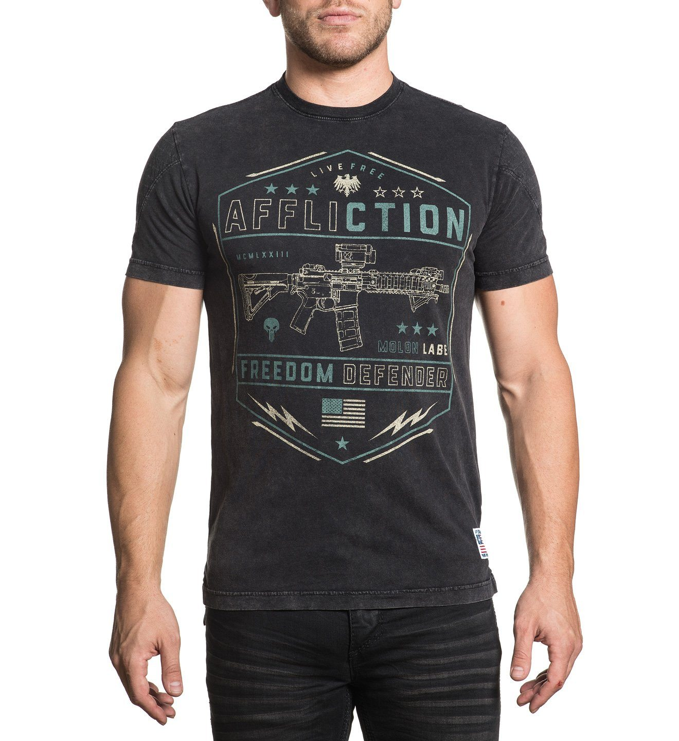Recoil - Mens Short Sleeve Tees - Affliction Clothing