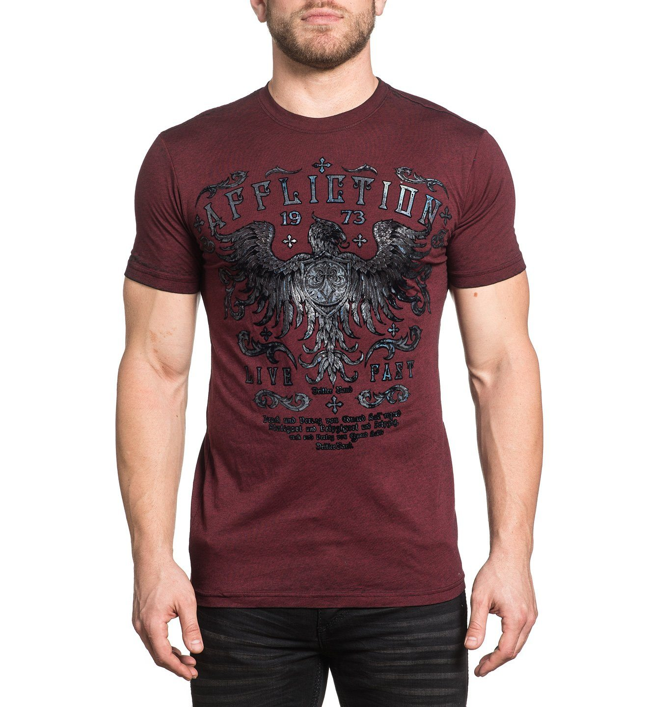 Royal Pine - Mens Short Sleeve Tees - Affliction Clothing