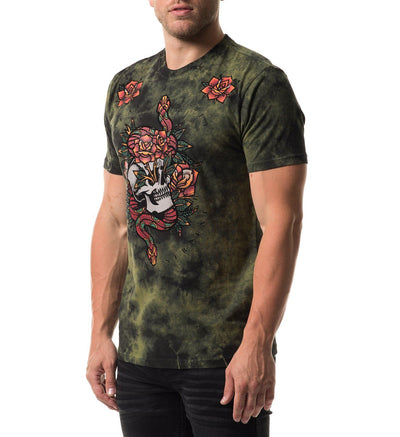 Sacred Serpent - Mens Short Sleeve Tees - Affliction Clothing