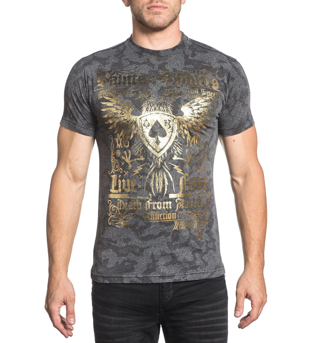 Mens Short Sleeve Tees - Saints & Sinners