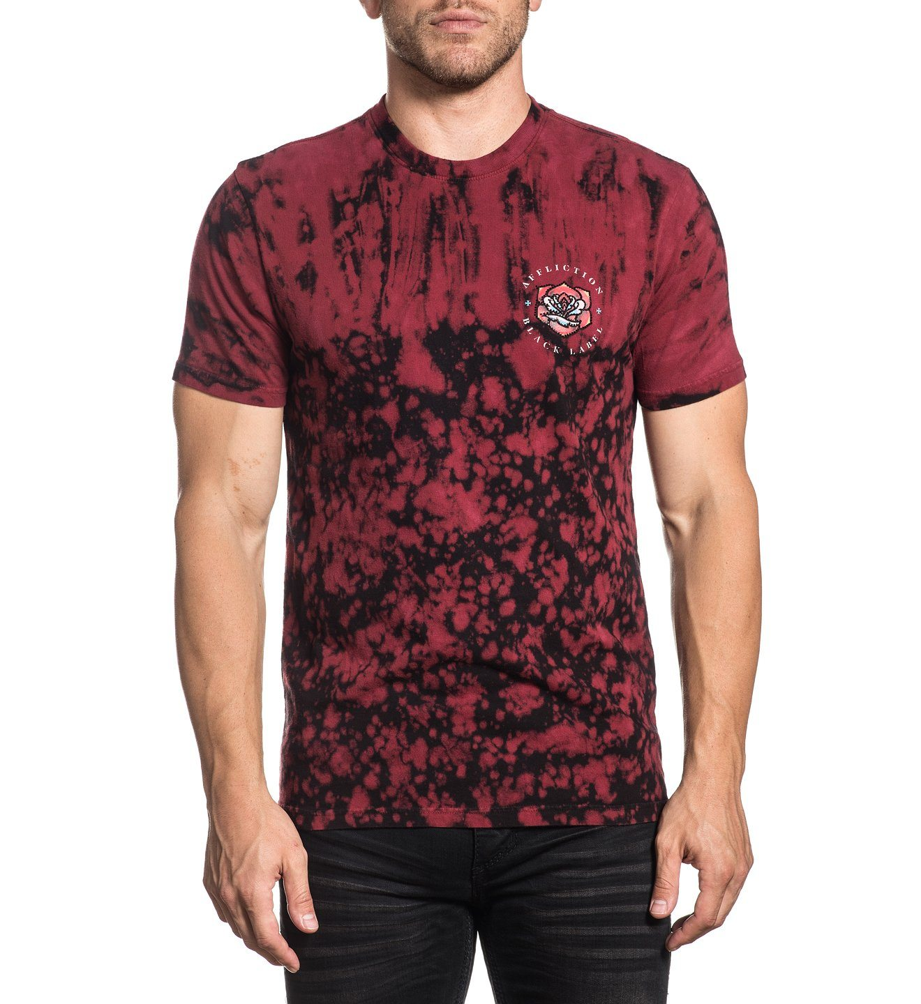 Screaming Dagger - Mens Short Sleeve Tees - Affliction Clothing