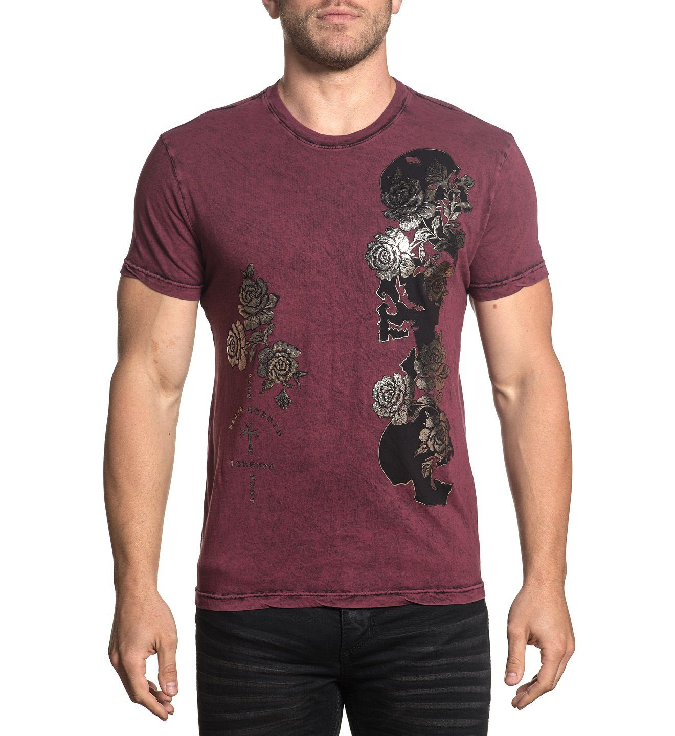 Slithering Souls - Mens Short Sleeve Tees - Affliction Clothing